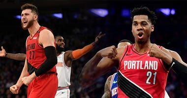 Jusuf Nurkic, Hassan Whiteside, Portland Trail Blazers, NBA, coronavirus, bubble, Dirt and Sprague, 1080 The FAN, KFXX-AM