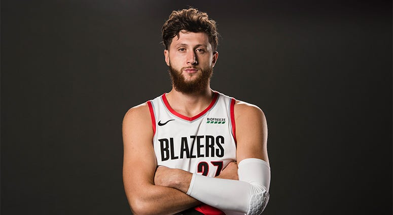 Jusuf Nurkic, Portland Trail Blazers, coronavirus, bubble, NBA, Primetime, 1080 The FAN, KFXX-AM