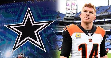 Dallas Cowboys, Andy Dalton, Dak Prescott, NFL, Primetime, KFXX-AM