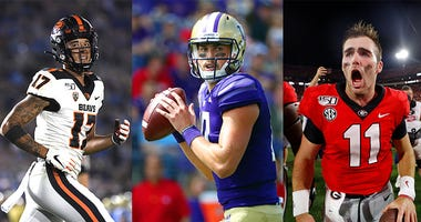 Jacob Eason, Jake Fromm, Isaiah Hodgins, NFL Draft, Dusty and Cam in the Morning, KFXX-AM