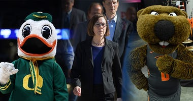 Governor Kate Brown, University of Oregon, Oregon State University, Pac-12, College Football, Dusty and Cam in the Morning, 1080 The FAN, KFXX-AM
