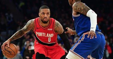 Damian Lillard, Portland Trail Blazers, New York Knicks, NBA, basketball, Dusty and Cam in the Morning, 1080 The FAN, KFXX-AM,
