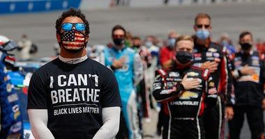 Bubba Wallace, NASCAR, racism, coronavirus, Primetime, 1080 The FAN, KFXX-AM