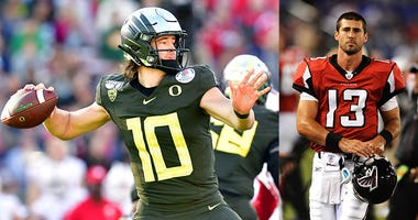 Joey Harrington, Justin Herbert, Oregon Ducks Football