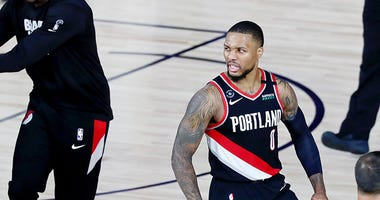 Damian Lillard, Portland Trail Blazers, NBA, bubble, Dusty and Cam in the Morning, 1080 The FAN, KFXX-AM