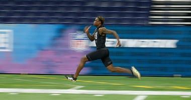 Henry Ruggs, NFL Draft, NFL Combine