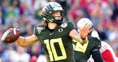 Justin Herbert, Oregon Ducks, Rose Bowl