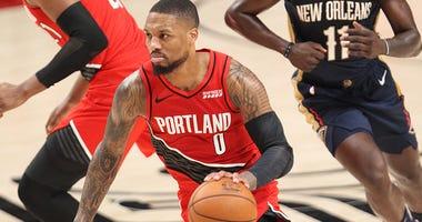 Damian Lillard, Portland Trail Blazers, New Orleans Pelicans