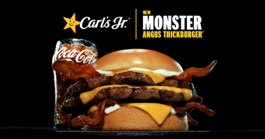 Monster Angus Thickburger from Carl's Jr.
