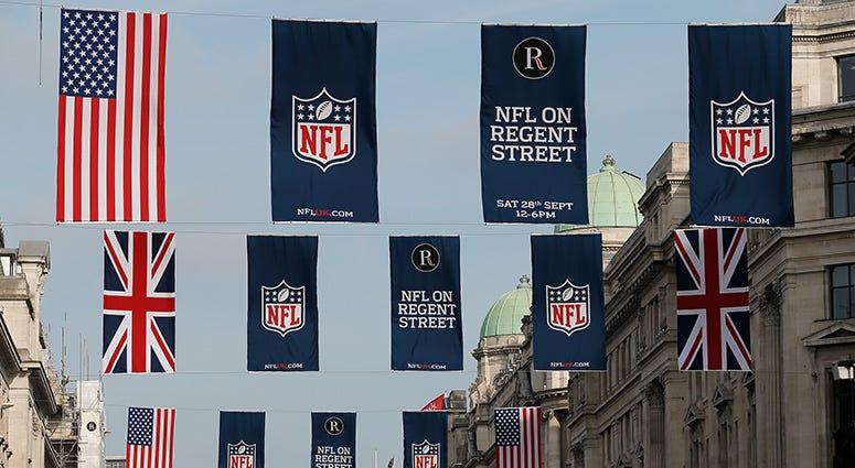 NFL, London, Mexico City, KFXX-AM