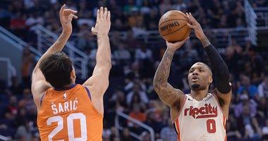 Portland Trail Blazers, Phoenix Suns, Damian Lillard