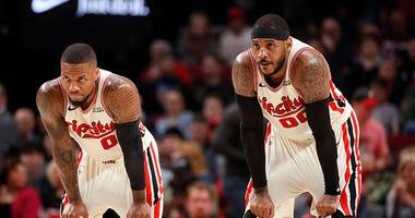 Portland Trail Blazers, Chicago Bulls, Damian Lillard, Carmelo Anthony, NBA