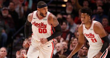 Portland Trail Blazers, Carmelo Anthony, Damian Lillard, NBA