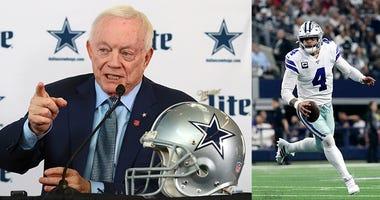 Dallas Cowboys, Jerry Jones, Dak Prescott