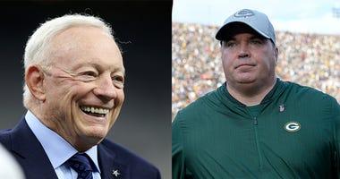 Jerry Jones, Mike McCarthy, Dallas Cowboys