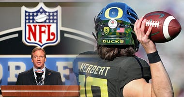 Justin Herbert, Oregon Ducks Football, NFL Draft