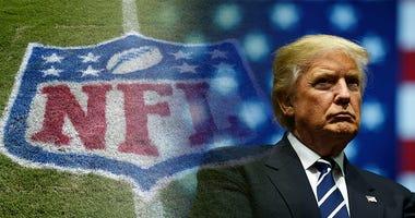 Donald Trump, NFL, coronavirus, football