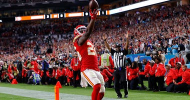 Damien Williams, Kansas City Chiefs, Super Bowl, NFL