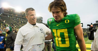 Oregon Ducks Football, Justin Herbert, Pac-12, College Football Playoff