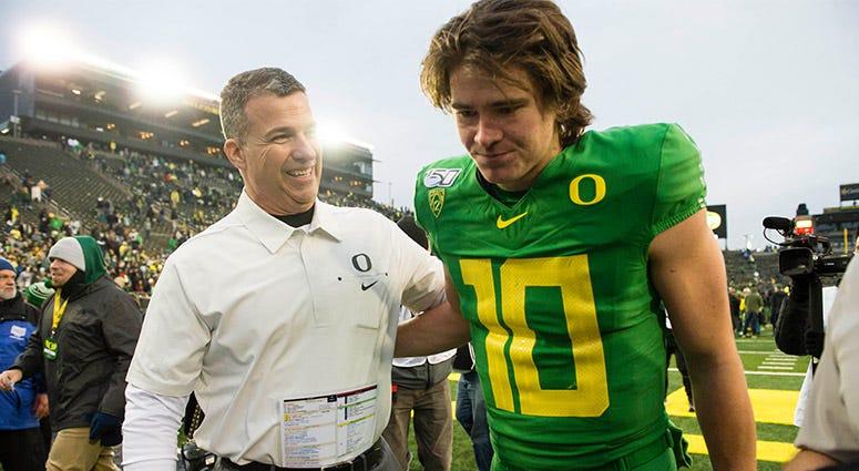 Oregon Ducks Football, Justin Herbert, Pac-12, College Football Playoff