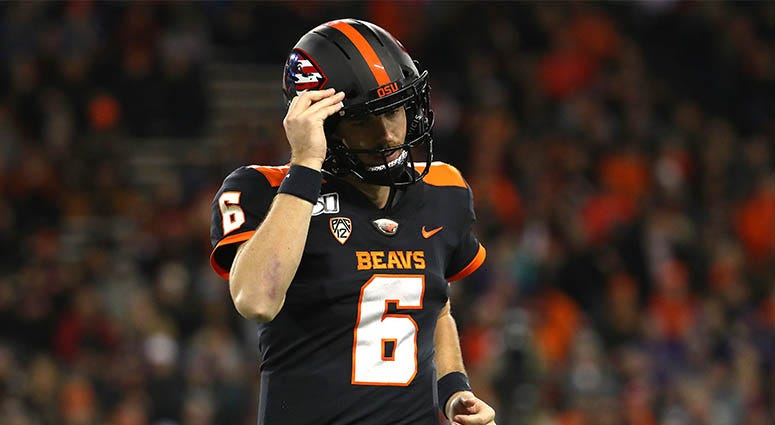 Jake Luton, Oregon State Beavers, Pac-12
