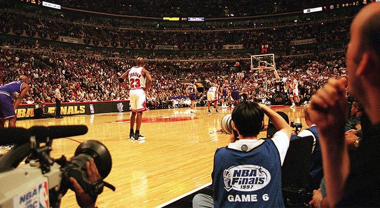 MIchael Jordan, Chicago Bulls, NBA