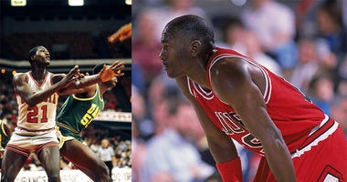 Michael Jordan, Dominique Wilkins, dunk contest