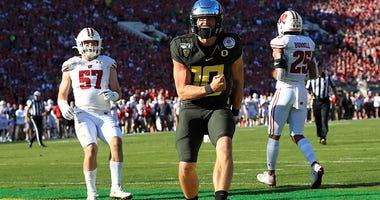 Justin Herbert, NFL Draft, NFL Combine