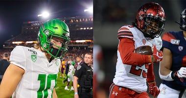 Oregon Ducks Football, Utah Utes Football, Pac-12 Football