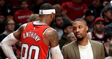 Carmelo Anthony, CJ McCollum, Portland Trail Blazers, Detroit Pistons, NBA
