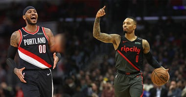 Damian Lillard, Carmelo Anthony, Portland Trail Blazers, NBA, bubble, Orlando, Dirt and Sprague, 1080 The FAN, KFXX-AM