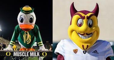 Oreogn Ducks Football, Arizona State Football, Pac-12 Football