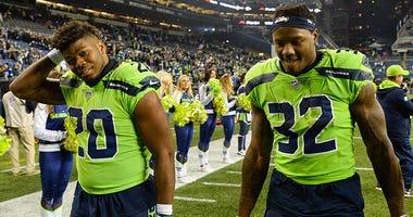 Rashaad Penny, Chris Carson, Seattle Seahawks, Minnesota Vikings, NFL