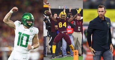 Oregon Ducks, Justin Herbert, Pac-12 Football