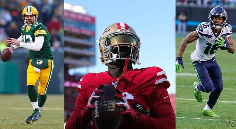 San Francisco 49ers, Seattle Seahawks, Green Bay Packers, NFL