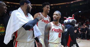 Portland Trail Blazers, Miami Heat, Damian Lillard, Andre Iguodala