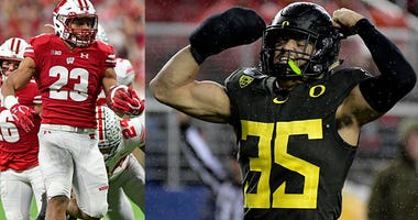 Oregon Ducks, Wisconsin Badgers, Pac-12 Football