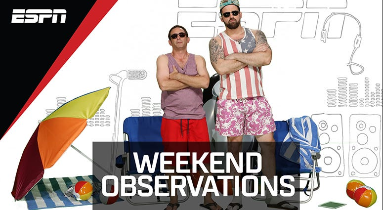 Weekend Observations