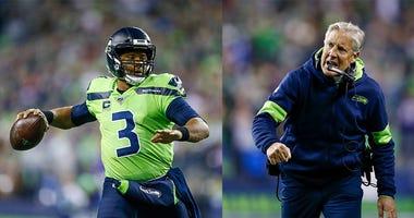 Seattle Seahakws, Russell Wilson, Pete Carol, NFL