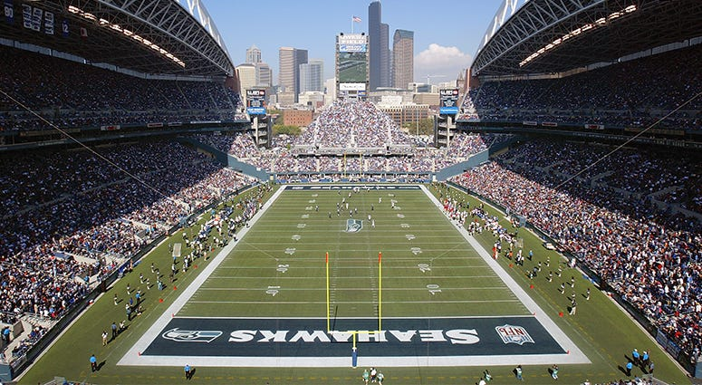 Seattle Seahawks, Centurylink Field, NFL, football, stadiums, 1080 The FAN, KFXX-AM