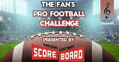 Pro Football Challenge, Oregon Lottery Scoreboard