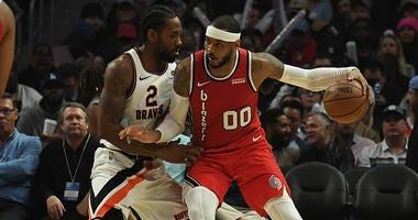 Trail Blazers, Carmelo Anthony, Damian Lillard, NBA