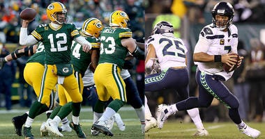 Packers, Seahawks, Aaron Rodgers, Russell Wilson