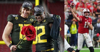 Oregon Ducks, Wisconsin Badgers, Rose Bowl, College Football