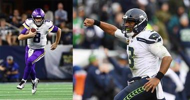 Seattle Seahawks, Russell Wilson, Kirk Cousins, Minnesota Vikings, NFL