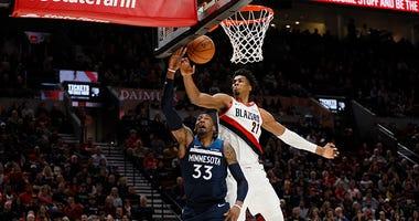 Hassan Whiteside, Damian Lillard, Portland Trail Blazers, NBA