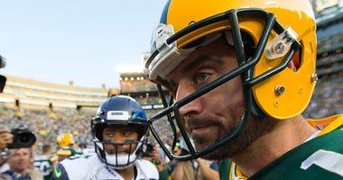 Russell Wilson, Seattle Seahawks, Green Bay Packers