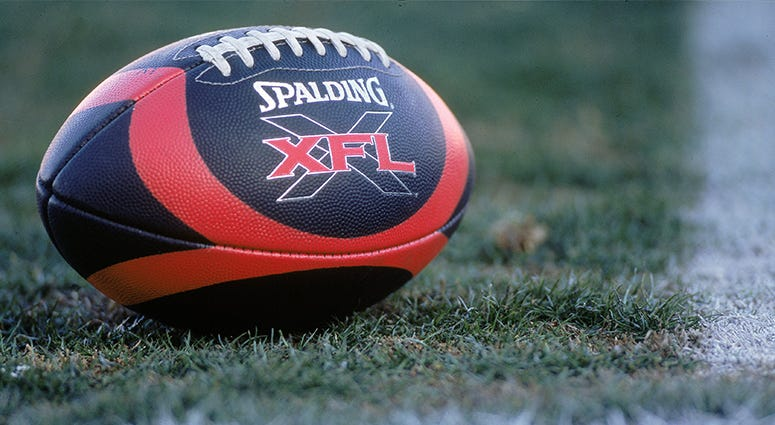 XFL, gambling