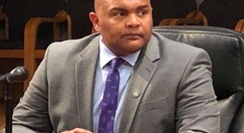 Richmond Police Chief Gerald Smith answers questions on July 13, 2020, (Matt Demlein, WRVA)