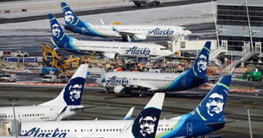 FILE - Alaska Airlines said over 300 employees among the company's workforce in Anchorage may lose their jobs on Oct. 1, 2020. (AP Photo/Ted S. Warren, File)
